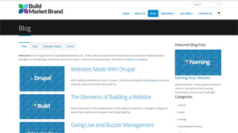 Building a Website - Blog