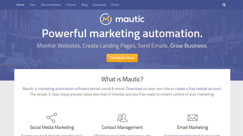 Marketing Automation with Mautic