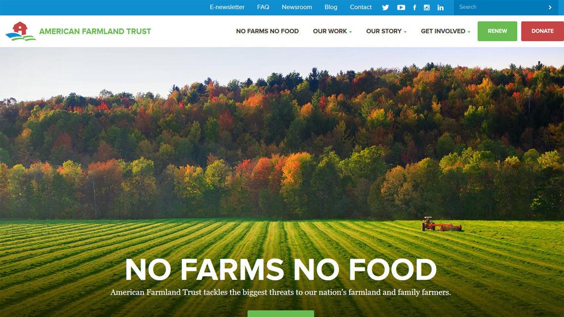 American Farmland Trust, Craft CMS