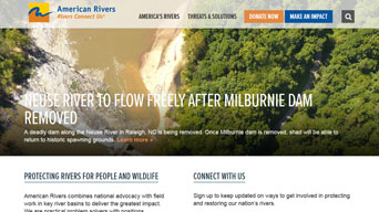 American Rivers, Wordpress