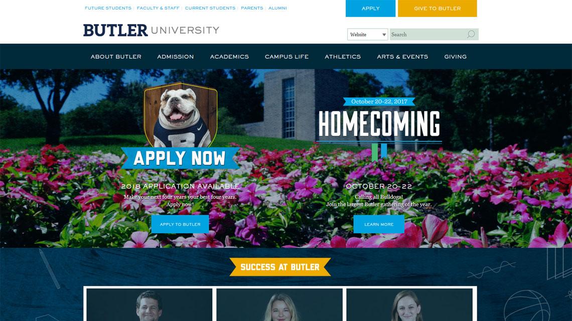 BuildMarketBrand, Drupal, Butler University