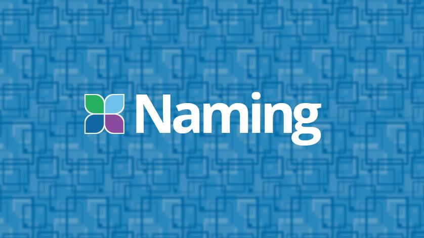 Building a Website, Naming