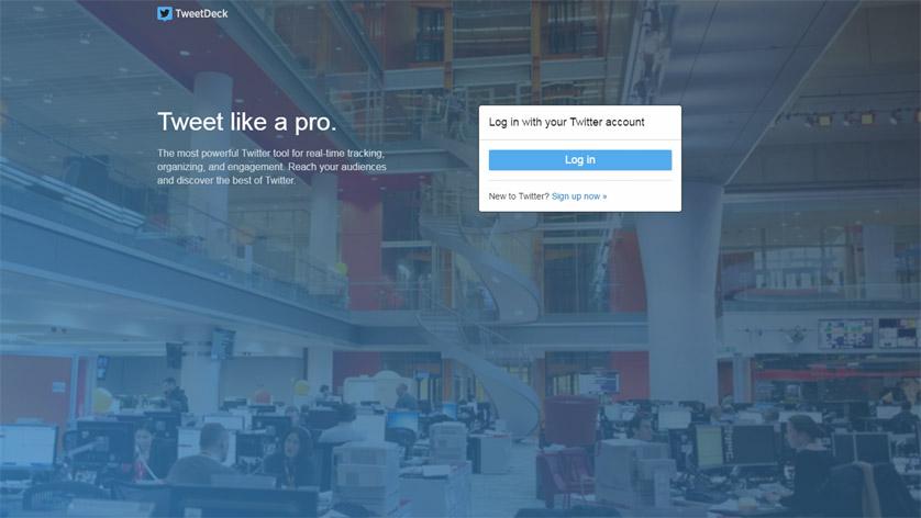 Social Media Tools - Tweetdeck