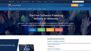 Content Management Systems - Joomla