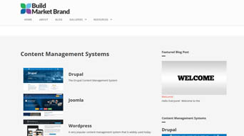 Building a Website - Content Management Systems
